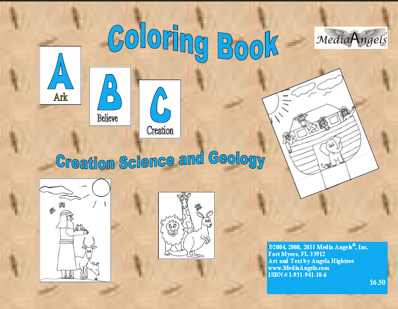 E-Book ABC Coloring Book - Creation and Geology