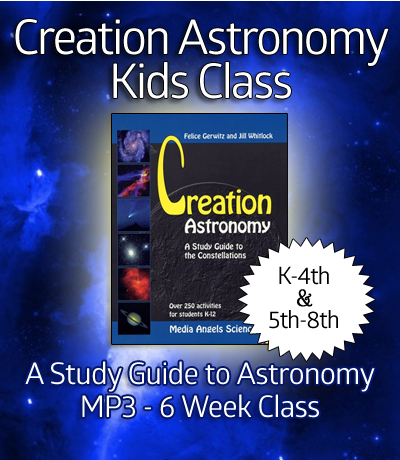 Creation Astronomy - K-8th Bundled Class - Digital Download