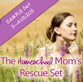 SAMPLE - The Homeschool Mom's RESCUE Set
