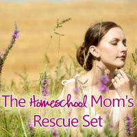 The Homeschool Mom's RESCUE Set